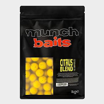 New Munch Citrus Blend Boilies 18mm 1kg Yellow