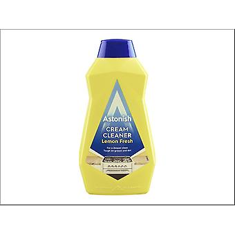 Astonish Products Cream Cleaner With Lemon 500ml C2370