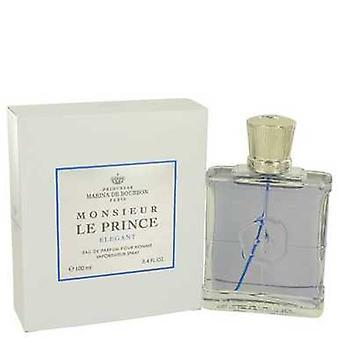 Monsieur Le Prince Elegant By Marina De Bourbon Eau De Parfum Spray 3.4 Oz (men) V728-536775