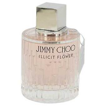 Jimmy Choo Illicit Flower By Jimmy Choo Eau De Toilette Spray (tester) 3.3 Oz (women) V728-541481