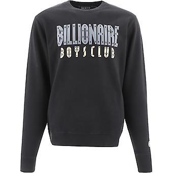 Billionaire B20352black Men's Black Cotton Sweatshirt