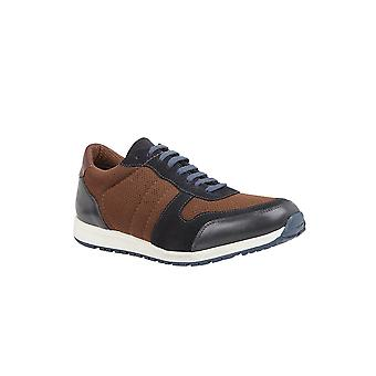 Lotus Barrie Leder Trainer Stil Schuh in Marine