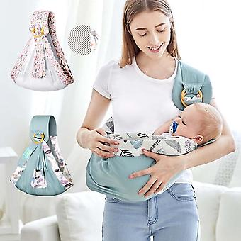 0-36M Newborn Baby Wrap Carrier Sling Adjustable Infant Comfortable Nursing Cover Soft Breathable Breastfeeding Carrier Kangaroo