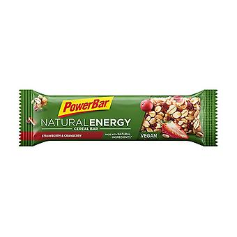 Natural Energy Cereal Strawberry and Cranberry 1 bar