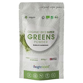 Super Greens Powder 240g - 21 Ingredient Weight Management And Vitality Powder, Immune Booster, Brain, Heart & Digestive Health, Vegan-Friendly