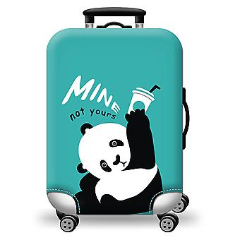 Colorful Luggage Protector Panda