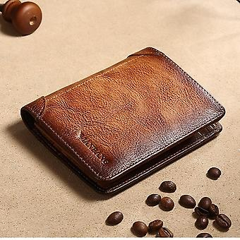 Male Genuine Leather Wallets, Credit/business Card Holders Leather Wallet