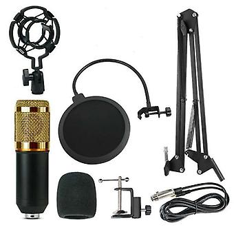 Microphone Kit With Adjustable Suspension Scissor Arm For Studio Broadcasting Recording
