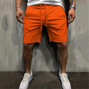 Mannen Wild Style Ripped Short Pants Jogger Workout