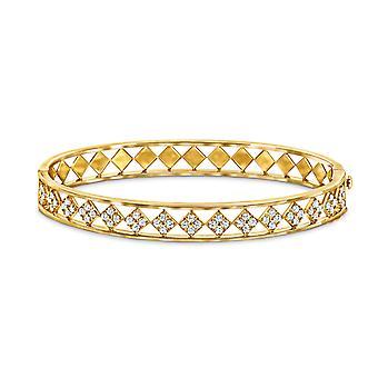 Bangle Goddess 18K Gold and Diamonds