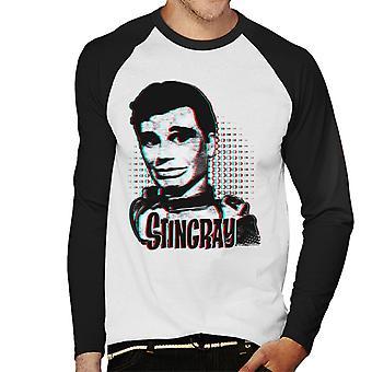 Stingray Troy Tempest The Captain Men's Baseball Long Sleeved T-Shirt