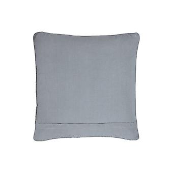 20 X 20 Cotton Accent Pillow With Textured Details, Set Of 4, Gray
