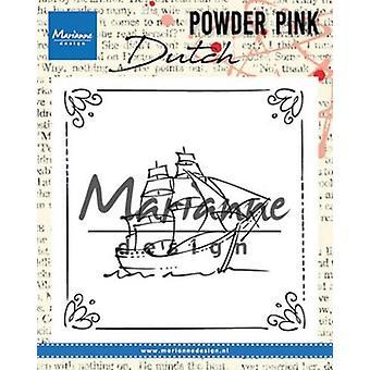 Marianne Design Clear Stamp P. Pink - Żaglówka Pp2806 82x82 mm
