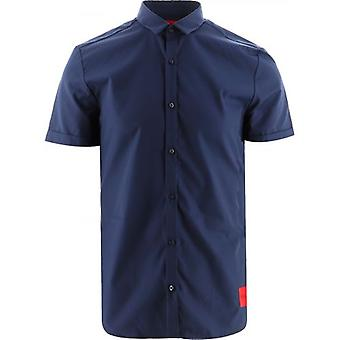 HUGO Navy Empson-W Shirt
