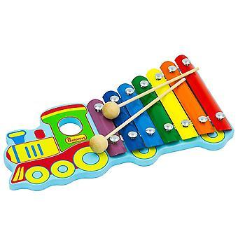 """Alatoys Wooden  Metallophone Xylophone """"Train"""""""