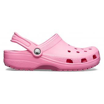 Crocs 10001 Classic Naisten Tukkeutuminen Vaaleanpunainen Limonadi