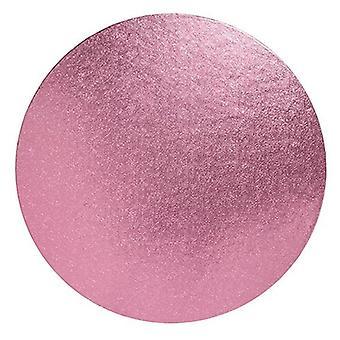 "8"" (203mm) Cake Board Round Light Pink - single"