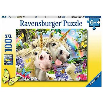 Ravensburger Enhjørning Selfies Jigsaw Puslespill Alder 6+ 12898