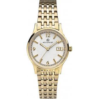 Accurist 8248 Signature Gold Reloj de señoras de acero inoxidable