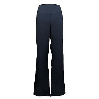 Women with Control Women's Reg Tummy Control Baby Bell Pants Blue A383300