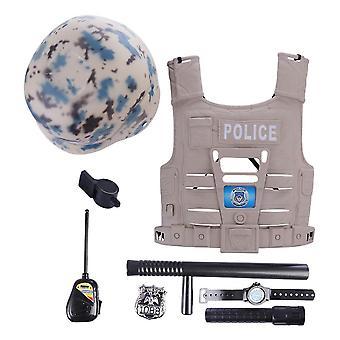 Pretend Police Set, Simulation Policeman Role Play Kits Jouet