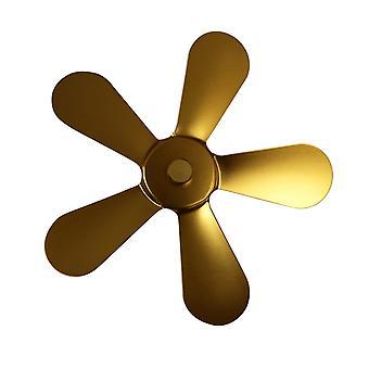 Winter Fireplace Fan, Heat Powered Stove Fan, Log Wood Burner, Quiet Home