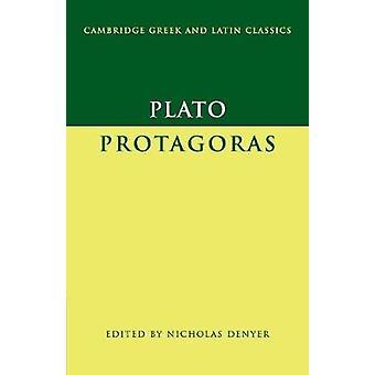 Platone - Protagoras di Platone - 9780521549691 Libro