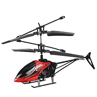 Mini Remote Control Helicopter 2ch Drop Resistant 2ch With Led Light For Kids Outdoor Toys