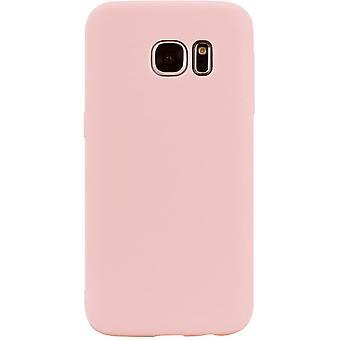 "HaiFei Samsung Galaxy S7 Hlle Case + 1 x Panzerglas Schutzfolie"" Silikon Schutzhlle Handyhlle, Outdoor"