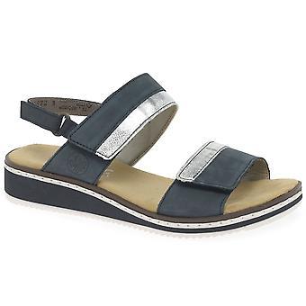 Rieker Saints Kvinders Kile hæl sandaler