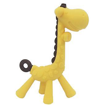 Giraffe Design,silicone Baby Teether-chew Toy