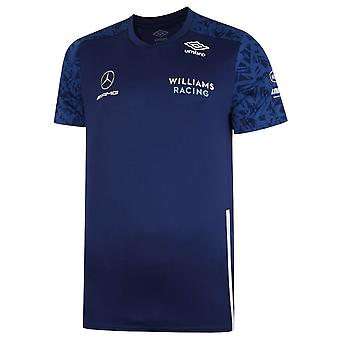 2021 Williams Racing Training Jersey Medieval Blue