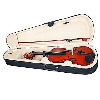 Polished Solidwood Acoustic Violin, Size 1/8