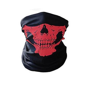 Cycling Face Mask Headwear Halloween Skull Wrap Scarf