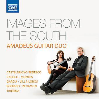 Castelnuovo-Tedesco / Amadeus Guitar Duo - Bilder aus dem Süden [CD] USA Import
