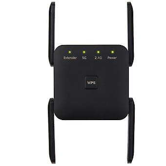 Antenne signaal Booster, 2,4 5G Dual Band Wireless Extender Repeater 1200M WiFi Booster Versterker