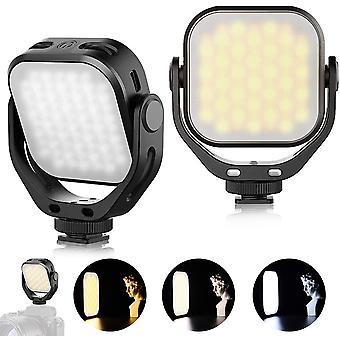 FengChun VL66 LED Licht Videolicht Farbtemperatur Kameralicht 360 ° Drehbares Kompaktes Taschenlicht