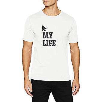 camel active T-Shirt 1/2, Ivoor, Klein (Fabrikant Maat:) Man.