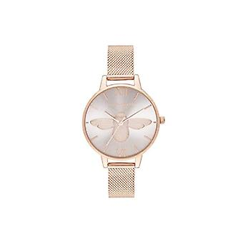 Olivia Burton Analog Quartz Watch with Stainless Steel Strap OB16AM161