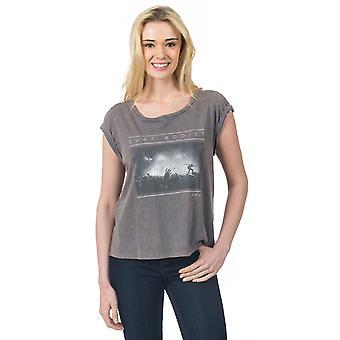 Rip Curl Logda camiseta de manga corta en granito gris
