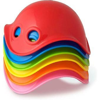 Moluk 6 Multicolore Mini Bilibos Bébé Bain Jouets