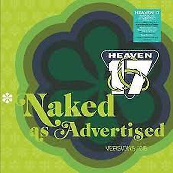 Heaven 17 - Naked As Advertised Clear Vinyl