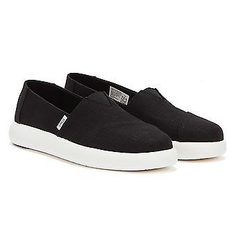 TOMS Alpargata Mallow Womens Black Shoes