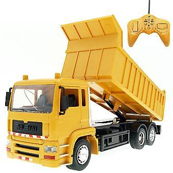 8ch fjernkontroll dumper lastebil engineering bil med musikk ledet barn leketøy