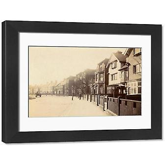 Hardy Road Blackheath. Large Framed Photo. Hardy Road, Blackheath London SE3 Date: early 20th.