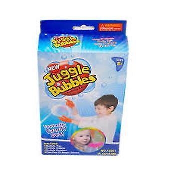Jonglera bubblor - Bubbeluppsättning
