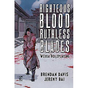 Righteous Blood, Ruthless Blades: Wuxia Roleplaying af Jeremy Bai, Brendan Davis (Hardcover, 2020)