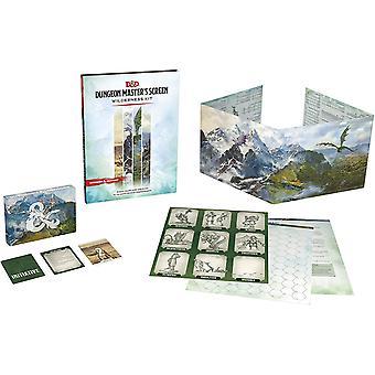Dungeons & Dragons (DDN) Dungeon Master's Screen Wilderness Kit