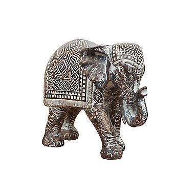 Patroon Ebony Finish Elephant Ornament