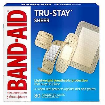 Band-Aid Klebeband Band-Aid verschiedene Größen Kunststoff verschiedene Formen schiere steril, 96 zählen